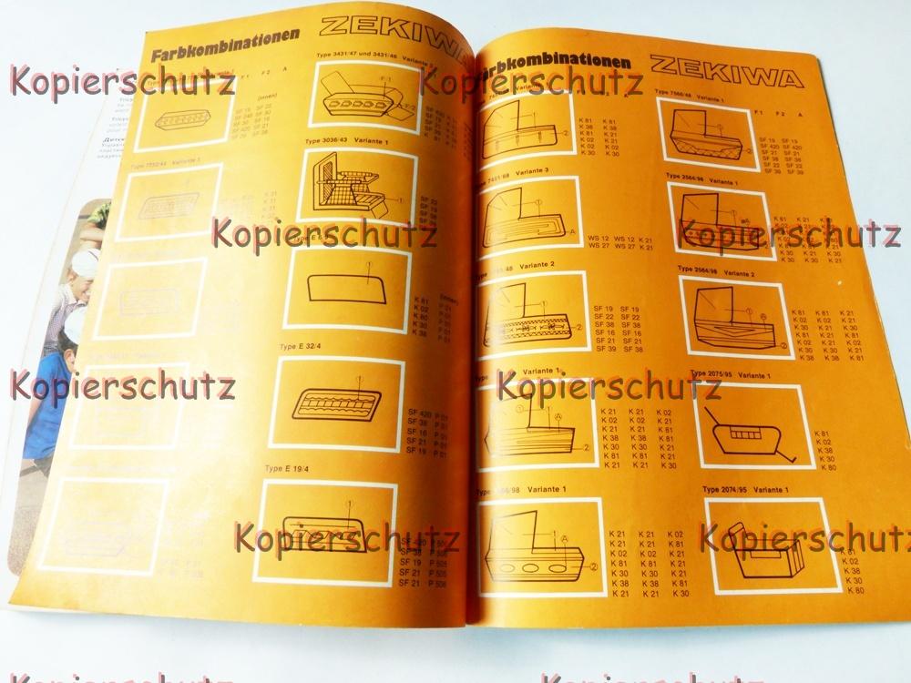 alte reklame veb zekiwa katalog kinderwagen sportwagen roller x386 ebay. Black Bedroom Furniture Sets. Home Design Ideas
