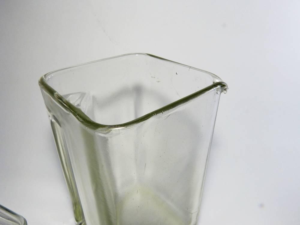 kubus glasgeschirr entwurf wilhelm wagenfeld art deco bauhaus glas. Black Bedroom Furniture Sets. Home Design Ideas