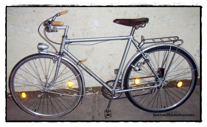 altes diamant fahrrad mit gangschaltung und. Black Bedroom Furniture Sets. Home Design Ideas