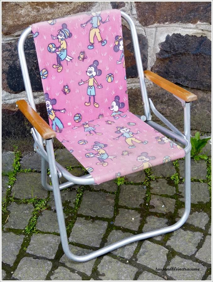 ddr kult klappstuhl kinder campingstuhl gartenstuhl mouse. Black Bedroom Furniture Sets. Home Design Ideas