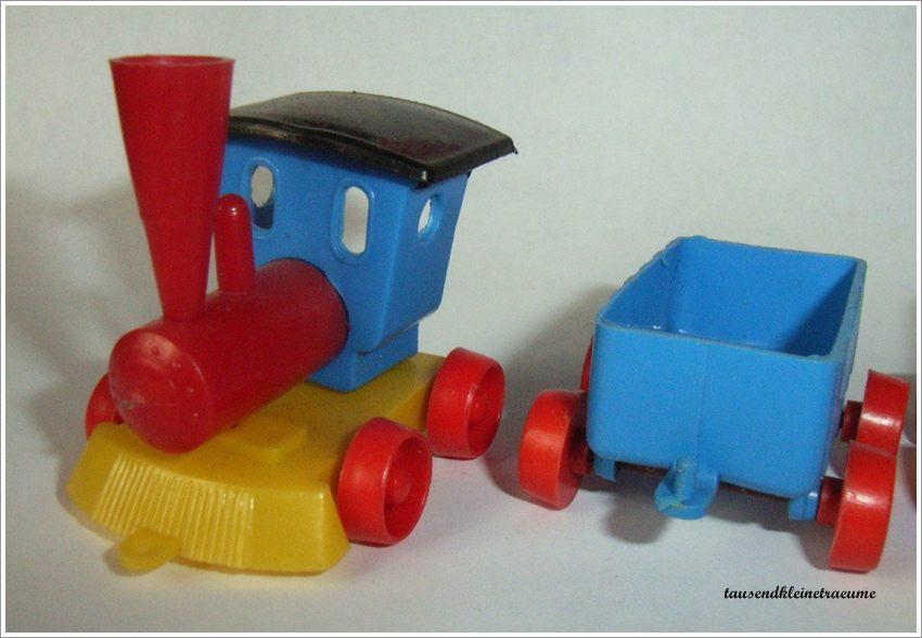 Kleine ddr spielzeugeisenbahn eisenbahn aus plastik