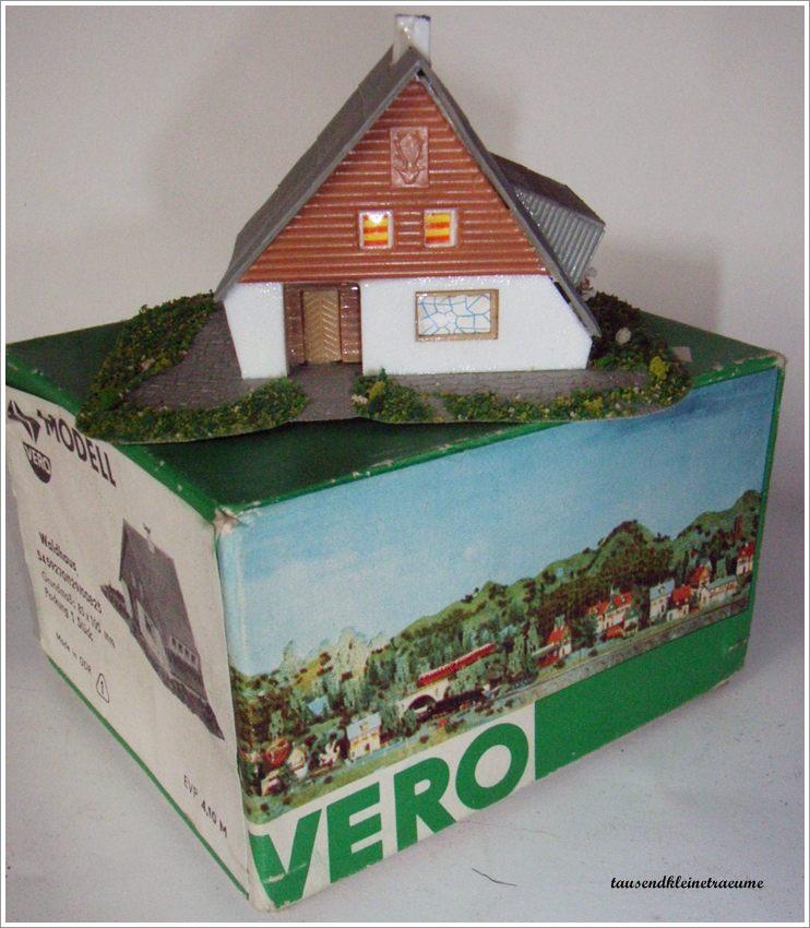 Vero modell waldhaus modellbahn eisenbahn ddr spielzeug ebay