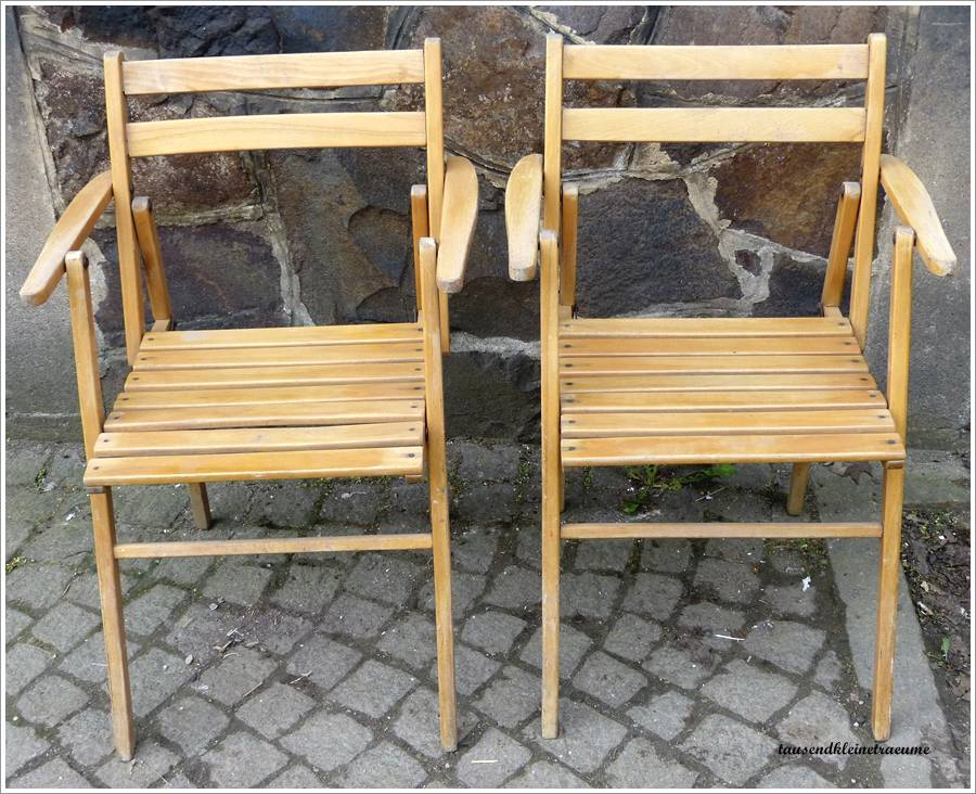 2 st art deco gartenstuhl mit armlehne holzstuhl klappstuhl gartenm bel g941 ebay. Black Bedroom Furniture Sets. Home Design Ideas