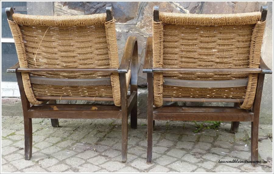 2 bequeme art deco sessel geflochten sitzfl che ergonomisches form design g849. Black Bedroom Furniture Sets. Home Design Ideas