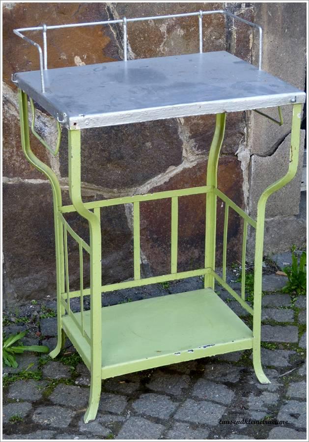 jugendstil waschtisch eisen tisch metalltisch gartentisch. Black Bedroom Furniture Sets. Home Design Ideas
