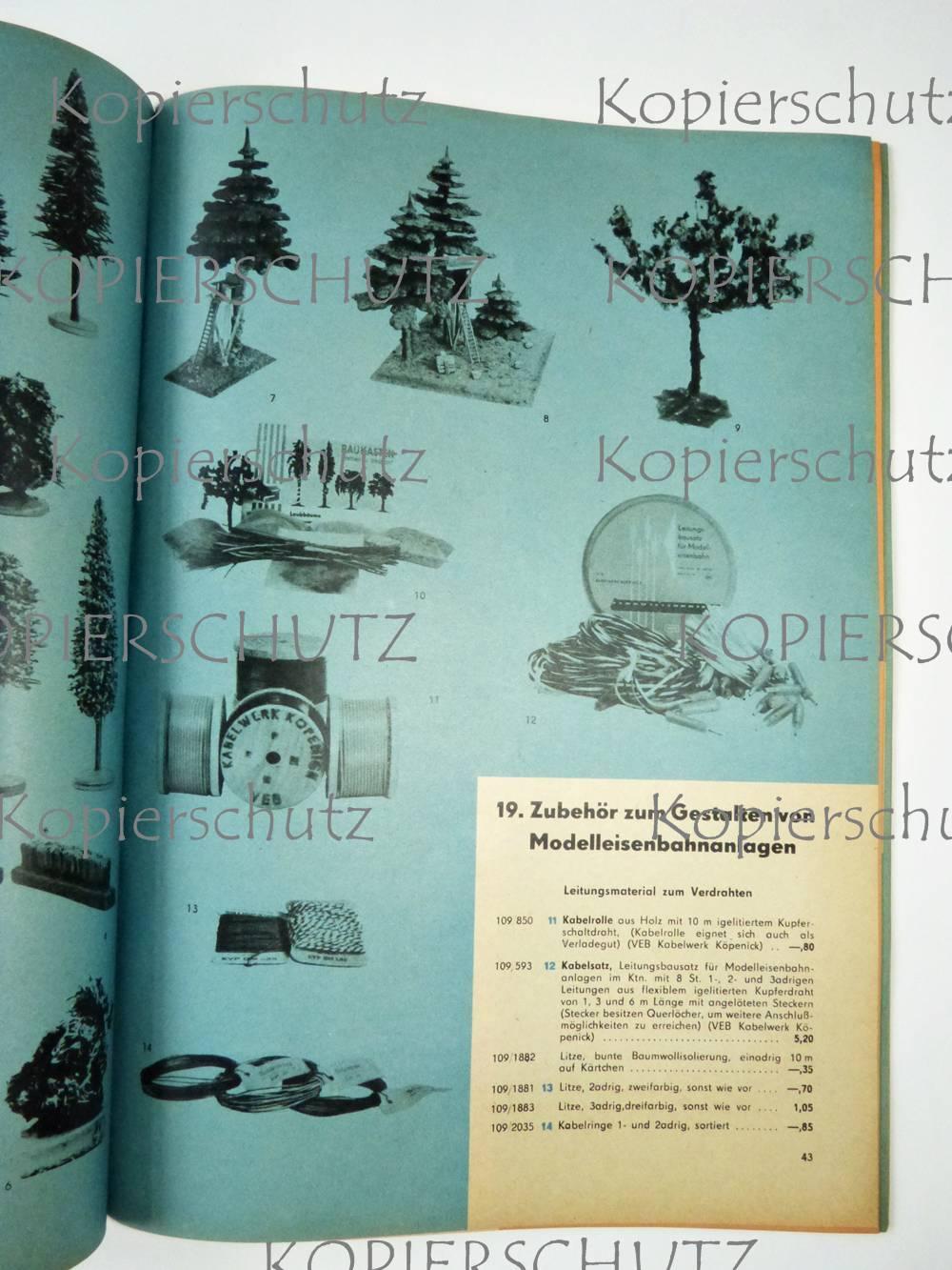 original katalog ddr modelleisenbahnen und zubeh r 1964 piko g tzold herr temos ebay. Black Bedroom Furniture Sets. Home Design Ideas