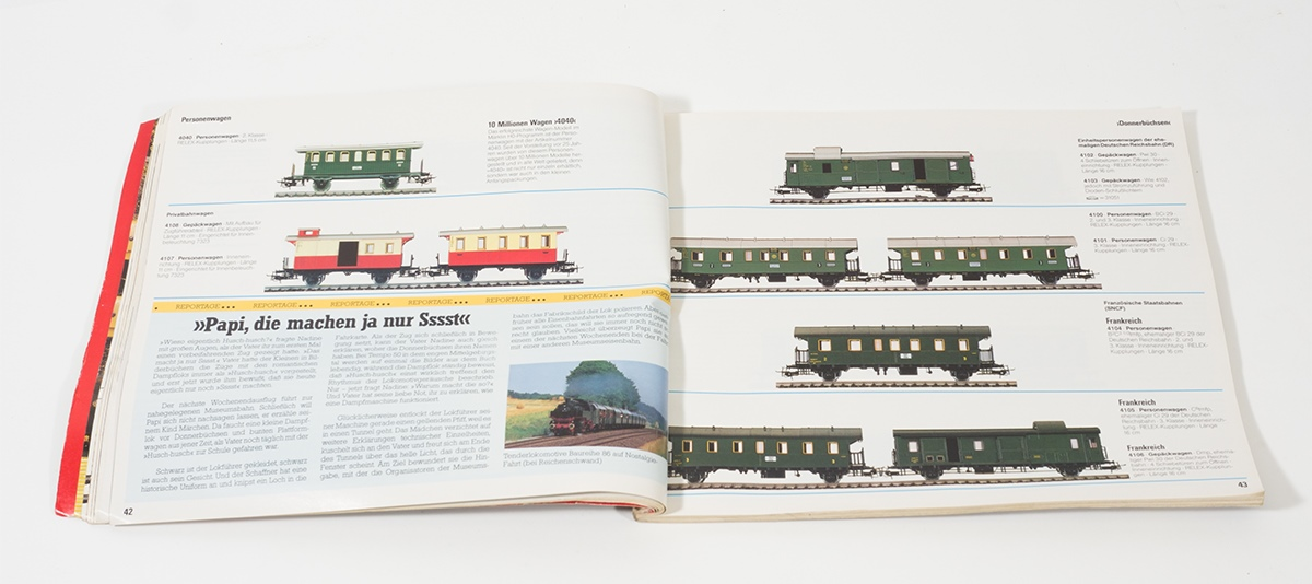 alter orig m rklin modelleisenbahn katalog f r spur h0 aus dem jahre 1987 1988 ebay. Black Bedroom Furniture Sets. Home Design Ideas