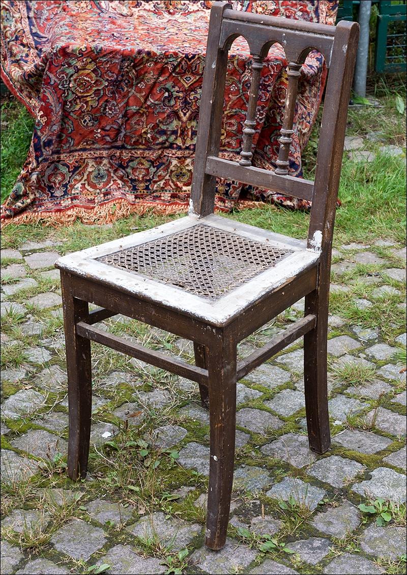 alter gr nderzeit stuhl holzstuhl k chnstuhl vintage m bel ca 1880 shabby chic ebay. Black Bedroom Furniture Sets. Home Design Ideas