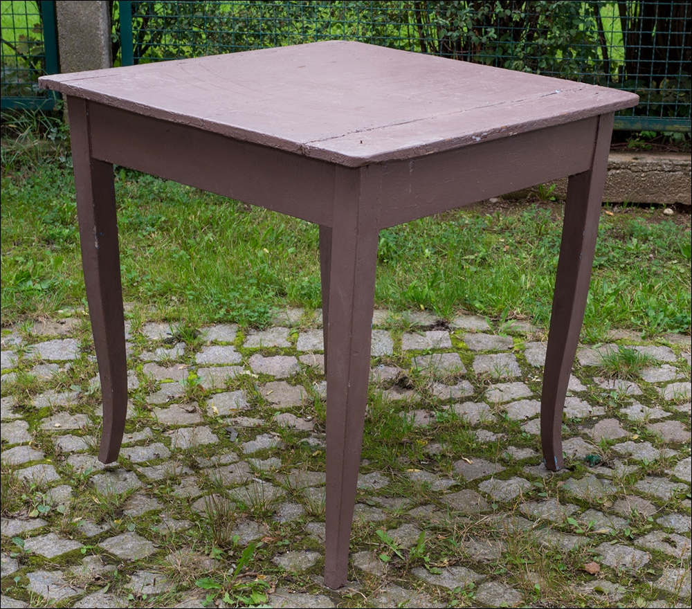 alter biedermeier tisch esstisch k chentisch alte grau. Black Bedroom Furniture Sets. Home Design Ideas