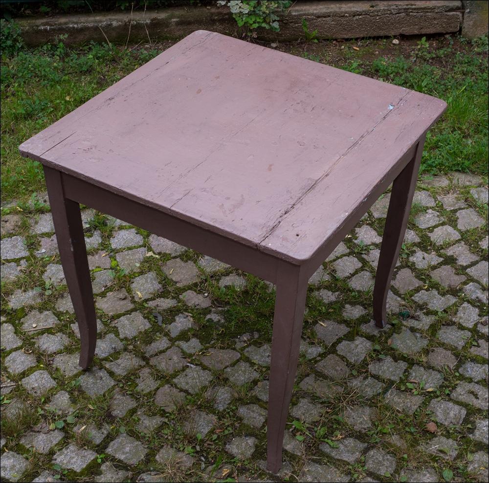Alter Biedermeier Tisch Esstisch, Küchentisch, Alte Grau