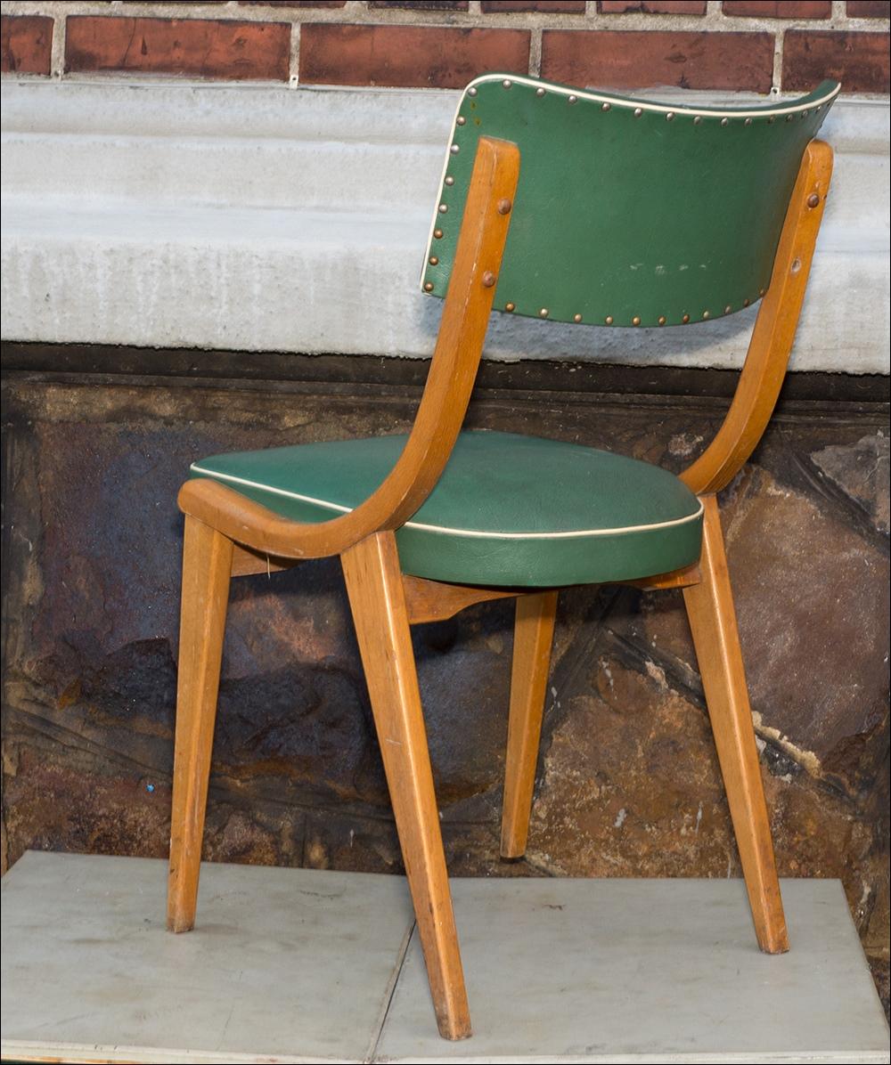 2 st ck kultige sixties design st hle rot gr n 50er 60er jahre vintage m bel ebay. Black Bedroom Furniture Sets. Home Design Ideas