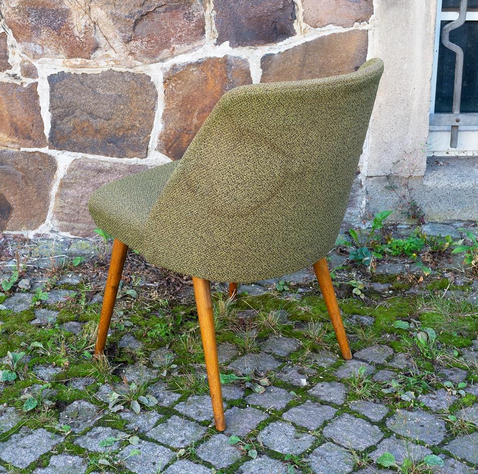 Gr ner club sessel lounge sessel stuhl vintage design for Stuhl design 60er